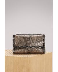 Stella McCartney - Multicolor Falabella Alter Python Crossbody Bag - Lyst