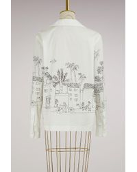Marni - White Printed Jacket - Lyst