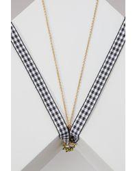 Miu Miu - Multicolor Pineapple Necklace - Lyst