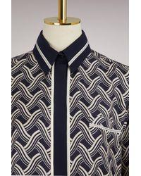 Victoria Beckham - Multicolor One Pocket Shirt - Lyst