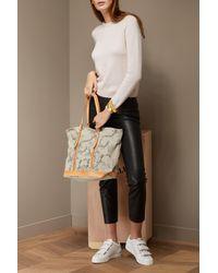 Vanessa Bruno - Multicolor Embroidered Cabas Shoulder Bag - Lyst