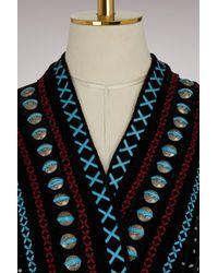Dodo Bar Or - Black Siya Silk Velvet Cardigan - Lyst