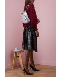 Stella McCartney - Multicolor Falabella Shiny Mini Backpack - Lyst