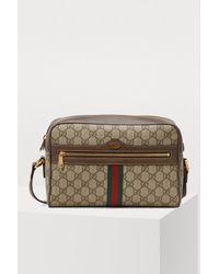 b3fdb724e5 Sac à épaule Ophidia GG Supreme petite taille Gucci en coloris ...