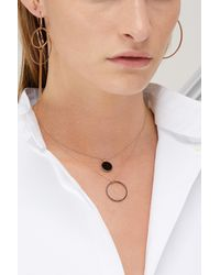 Ginette NY - Multicolor Ever Onyx Disc Necklace - Lyst