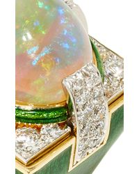 David Webb - Multicolor Couture Opal Ring - Lyst