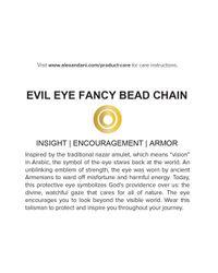 ALEX AND ANI | Metallic Precious Metals Evil Eye Fancy Bead Pull Chain Bracelet | Lyst