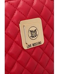 Love Moschino | Red Purse | Lyst