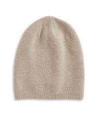 Portolano | Brown Cashmere Hat | Lyst