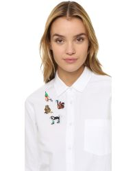Macon & Lesquoy | Multicolor Winter Animal Patch Set - Multi | Lyst