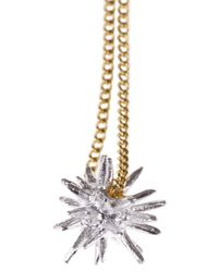 Wouters & Hendrix - Metallic Ball Spike Necklace - Lyst