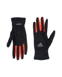 Adidas - Black Gloves - Lyst