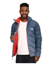 The North Face | Blue Fuseform™ Dot Matrix Hooded Down Jacket for Men | Lyst