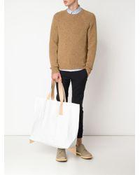 Hender Scheme - White Handles Vinyl Slouchy Tote Bag - Lyst