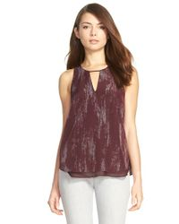 Trouvé | Multicolor Double Layer Split Back Tank | Lyst
