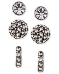 Lonna & Lilly Black Ionna & Lilly Trio Stud Pack