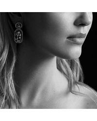 David Yurman | Purple Chatelaine Double-drop Earrings With Diamonds | Lyst