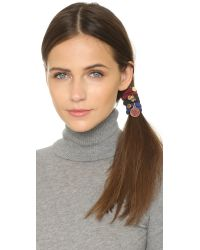 Marc By Marc Jacobs | Multicolor Button & Smile Cluster Ponies - Coral Multi | Lyst