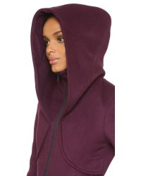 SOIA & KYO - Purple Arya Coat - Merlot - Lyst