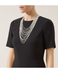 Hobbs - Metallic Gillian Necklace - Lyst