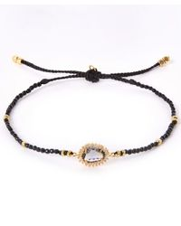 Tai | Black Starburst Beaded Bracelet | Lyst