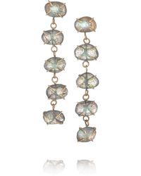 Melissa Joy Manning - Metallic 14-karat Gold Labradorite Earrings - Lyst