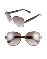 Marc By Marc Jacobs | Brown 59mm Butterfly Sunglasses | Lyst