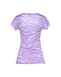 Blumarine - Purple T-shirt - Lyst