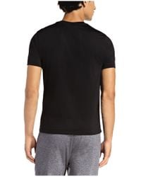 BOSS Green | Black T-shirt: 'tianotech' In Jersey for Men | Lyst
