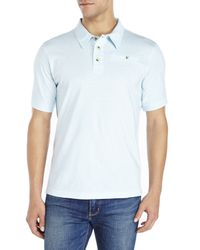 English Laundry | Blue Solid Polo for Men | Lyst