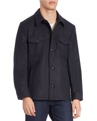 Hart Schaffner Marx | Gray Wool-blend Jacket for Men | Lyst
