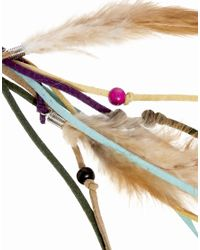 ASOS | Multicolor Limited Edition Feather Hair Band | Lyst