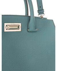 Max Mara | Blue New Hollywood Small Tote | Lyst
