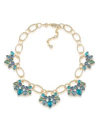 Carolee - Metallic Niagara Mist Statement Necklace - Lyst