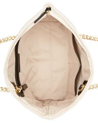 Calvin Klein - White Dressy Nylon Quilted Tote - Lyst