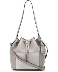 5e59bec4f897 MICHAEL Michael Kors 'greenwich' Shoulder Bag in Gray - Lyst