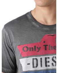 DIESEL | Gray T-rain for Men | Lyst