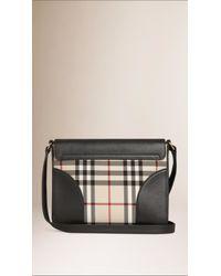 Burberry - Black Small Horseferry Cross-Body Bag - Lyst