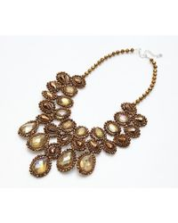 Nakamol | Metallic Juliana Necklace-copper | Lyst