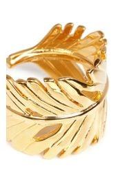 Philippe Audibert - Metallic 'zunis' Palm Leaf Ring - Lyst