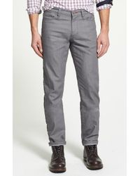Victorinox | Gray Straight Leg Jeans for Men | Lyst