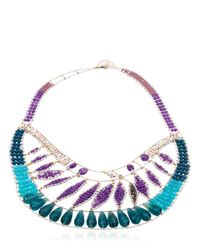 Ziio | Blue Jungle Necklace | Lyst