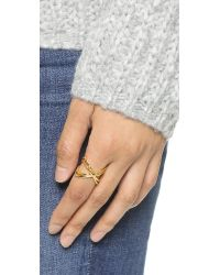 Gorjana | Metallic Skyler Cuff Ring - Gold | Lyst