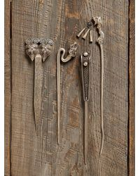 Free People - Metallic Vintage Decorative Hair Pins - Lyst