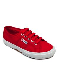 Superga | Red Cotu Classic Sneakers | Lyst