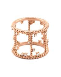 Nancy Newberg - Pink Diamond Cage Ring - Lyst