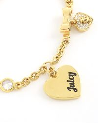 Juicy Couture | Metallic Juicy At Heart Bracelet | Lyst