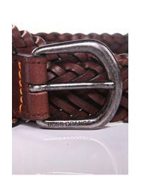 BOSS Orange | Brown Cowhide Belt 'milly' | Lyst