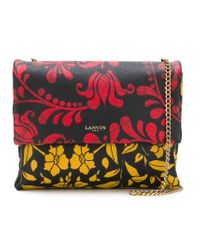 Lanvin - Black 'sugar' Crossbody Bag - Lyst