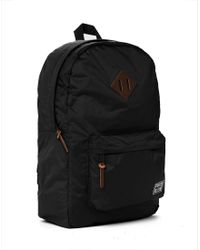 Herschel Supply Co. - Heritage Backpack In Nylon - Black for Men - Lyst